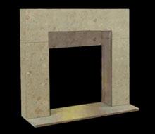 Fireplace Mantels Cantera Fireplace Mantels Travertine tile