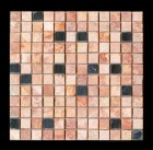 "MD-16 SQUARE MESH PEACH/NEGRO 1"" X 1"""