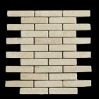 "MD-30 BRICK JOINT MESH  DESERT GOLD TUMBLED 4"" X 1"""