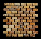 "MD-32 BRICK JOINT MESH PEACH 2"" X 1"""