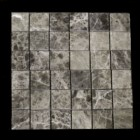 "MD-42 SQUARE MESH MARRON EMPERADOR HONED TUMBLED 2"" X 2"""