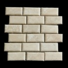 "MD-47 BRICK JOINT MESH PAREDON CUSHIONED HONED 4"" X 2"""