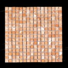 "MD-59 SQUARE MESH PEACH TUMBLED  5/8"" X 5/8"""