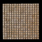 "MD-61 SQUARE MESH CHOCO TUMBLED  5/8"" X 5/8"""